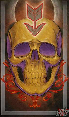 Sniper Skull Print