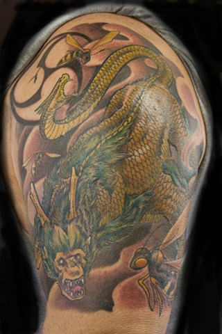 Japanese Nue Tattoo