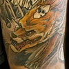Japanese Kitsune Thigh, in progress