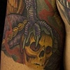 Japanese Dragon Chest Tattoo