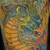 Japanese Phoenix Half Sleeve Tattoo