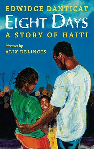 "Eight Days ""A Story of Haiti""_ Book Cover"