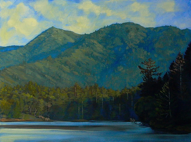 """Mt. Tam With Lake"""