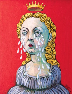 """Weeping Madonna"""