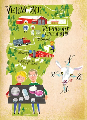 Vermont Creamery Holiday Card