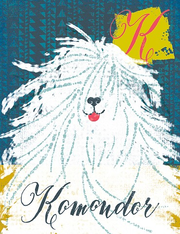 K is for Komondor