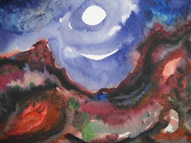 Moon Over Saddleback, Harris Wash