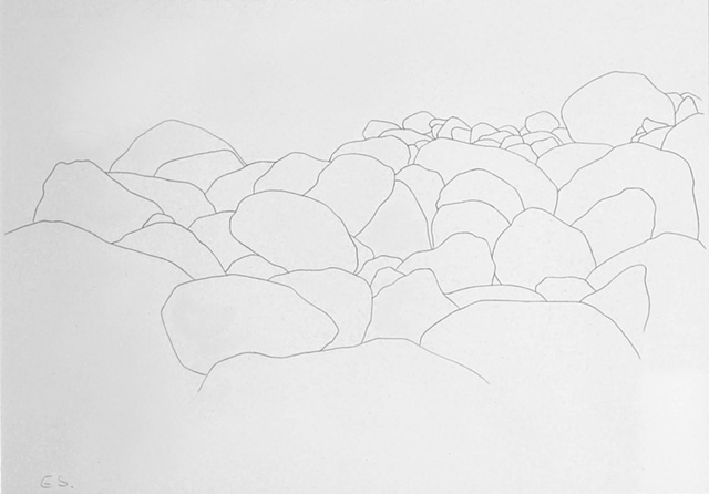 eva slater drawing of trees