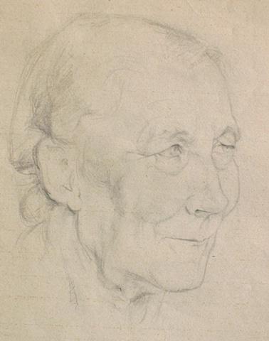 Eva Slater portrait of a woman