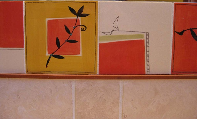 Back Splash Tiles (Detail)