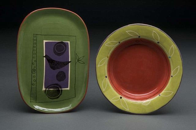 Plate & Shallow Bowl