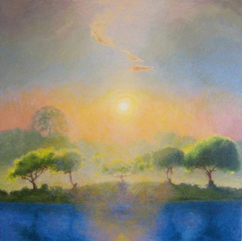 sunset lake sunset II