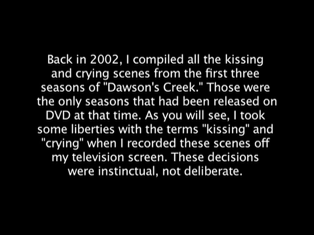 Kissing and Crying