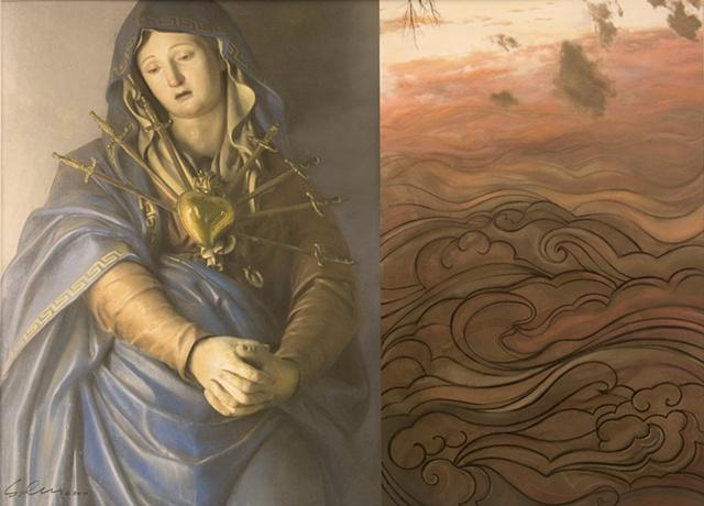Marian, environmental commentary, fine art