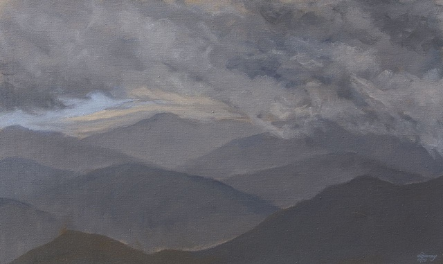 Clouds Over Black Mountain Gap