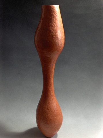 Tall Red Vessel