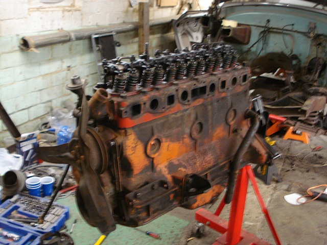 Years of crud on this engine