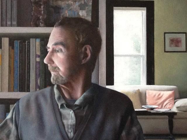 Man At Window (detail)