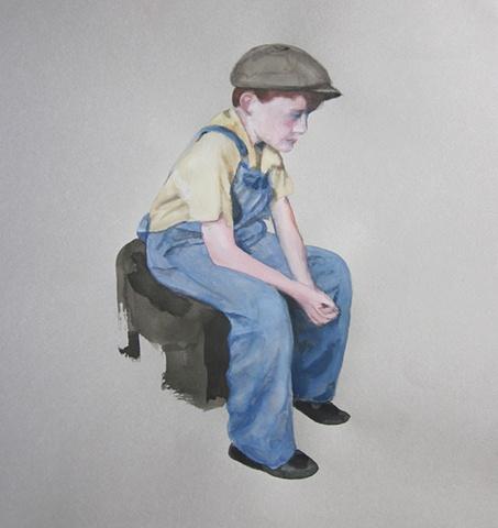 Mill Boy Seated