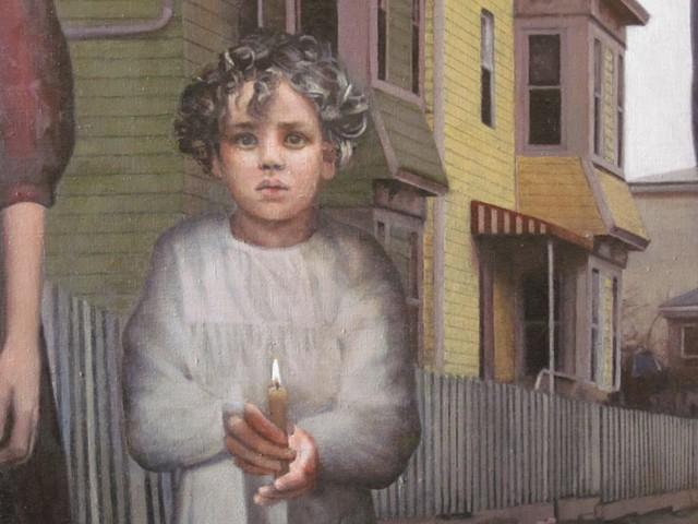 Mill Children, Fall River (detail)