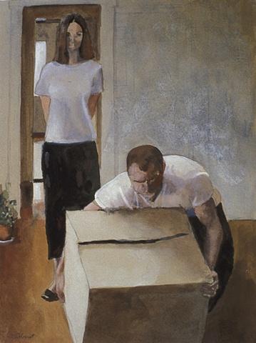 Man Lifting Box Study
