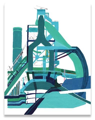 Untitled (Blue-Green)