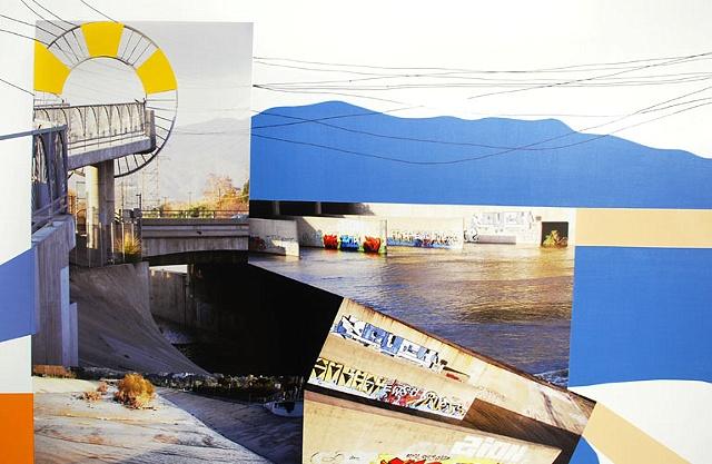 LA River, West Bank (detail)