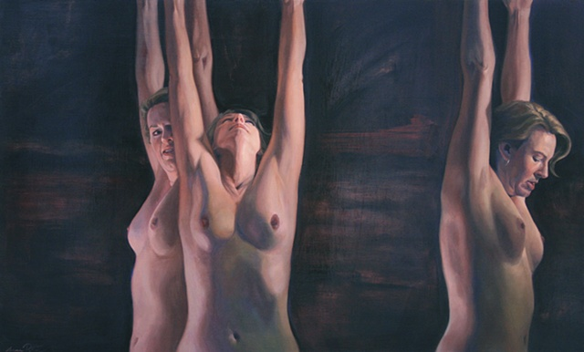figurative, nude, oil painting,