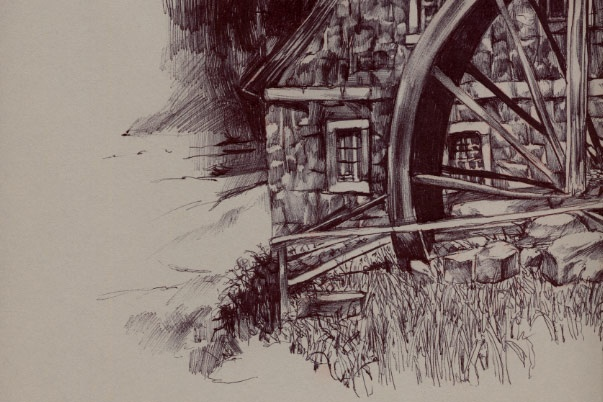Swiss Mill detail