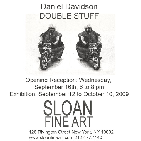 Daniel Davidson at Sloan Fine Art project room