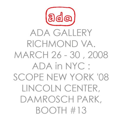 ADA GALLERY @ SCOPE ART FAIR  NYC @))*