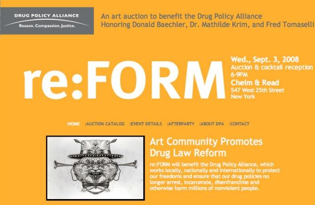 re:FORM art auction benefit