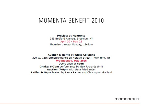 Momenta Art Auction