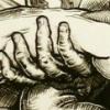 """""""Mr Everything Pieta (Just in Case)"""" (detail)"""