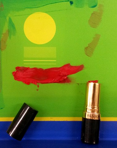 Donated Material Prints - Lipstick