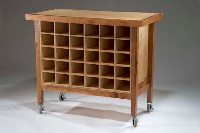 Test Spot Cabinet