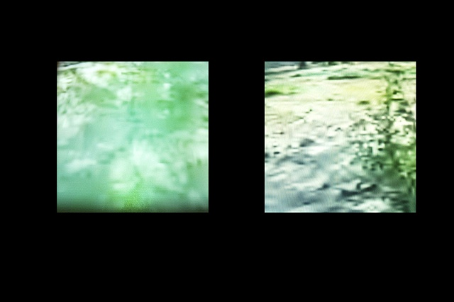 Yard of the Yard- Afghanistan/United States (Screen captures of live video performance/exchange- US/left, AF/right