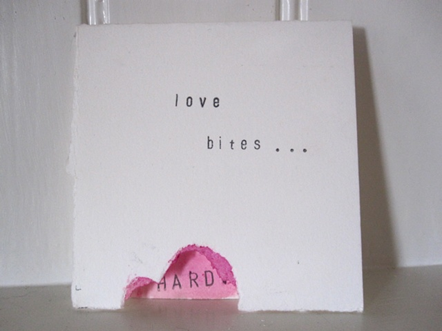 Love BItes... HARD greeting Card