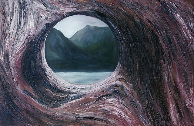 Knot Hole View (Glacier National Park, 2009)
