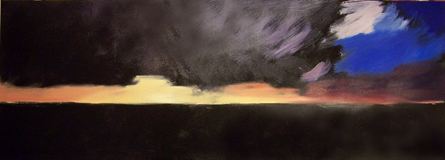 Horseneck Sunset (step 1)