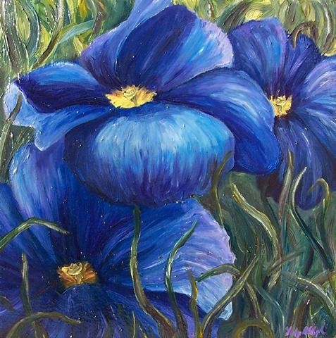 Blue Primrose #2