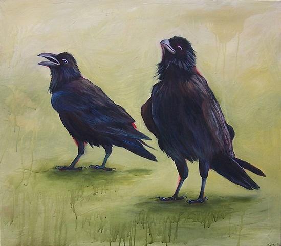 Two Ravens, Chihuahuan desert