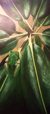 Green Frog #5 (step 9)