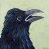 Raven Portrait #3