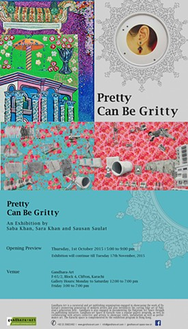 Pretty Can Be Gritty - Gandhara Art Gallery