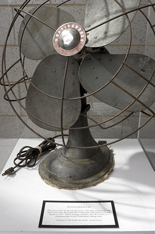 Conserve-A-Story, detail of fan