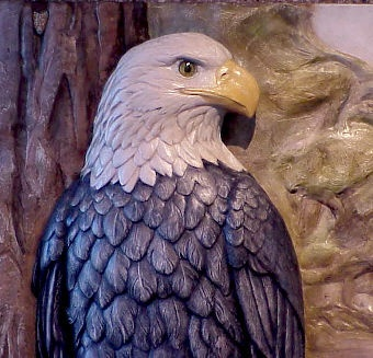 """Eagle""- Detail of the Plaque #1"
