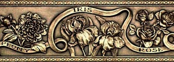 """""""Peony, Iris and Rose"""""""