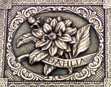 "Dahlia-Gladiola-Carnation ""Dahlia"""