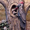 Plaque #3, Pileated Woodpecker